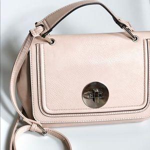 Franco Sorto | blush pink cross body bag